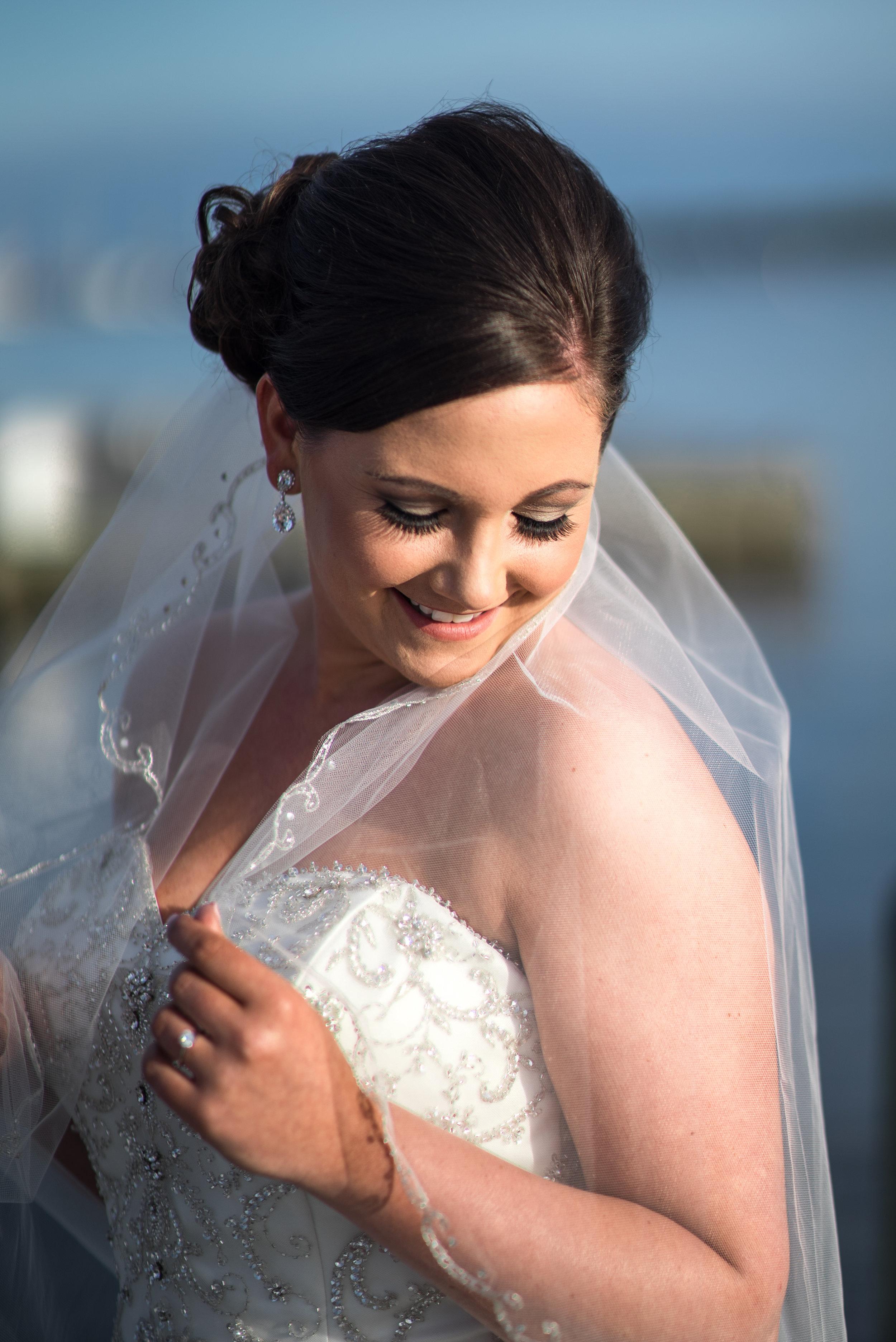 Downtown Washington NC waterfront Engagement bridal wedding photography