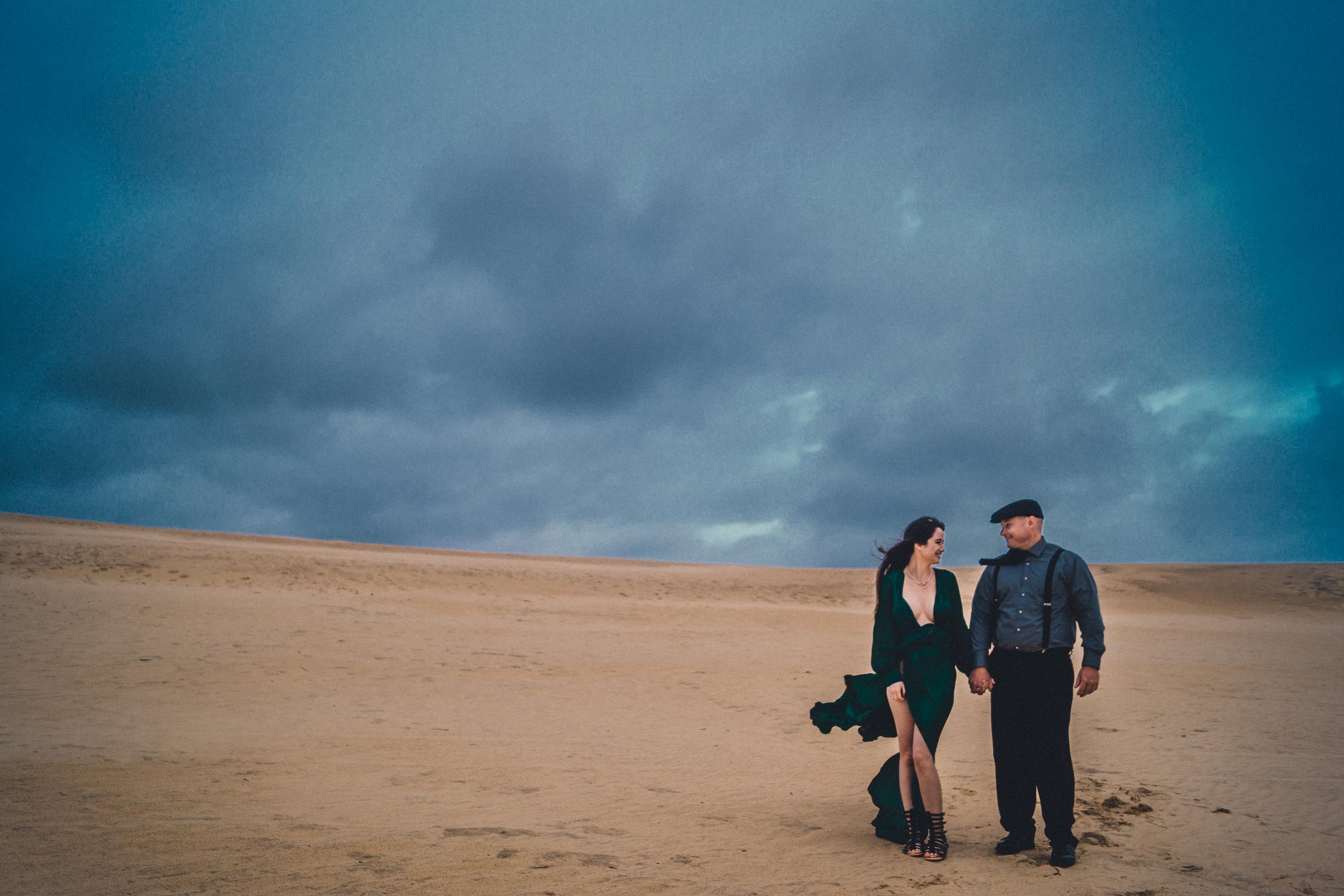 Outer Banks Wedding Engagement  couple photography  north carolina