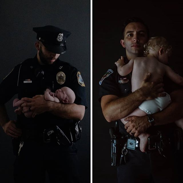 """And maybe just remind the few, if ill of us they speak,  that we are all that stands between The Monsters And The Weak."" #bluelinefamily #leo #lawenforcement #behindthebadge #backtheblue #nationallawenforcementweek #leo #northcarolina #boone #northcarolinaphotographer  #thinblueline"
