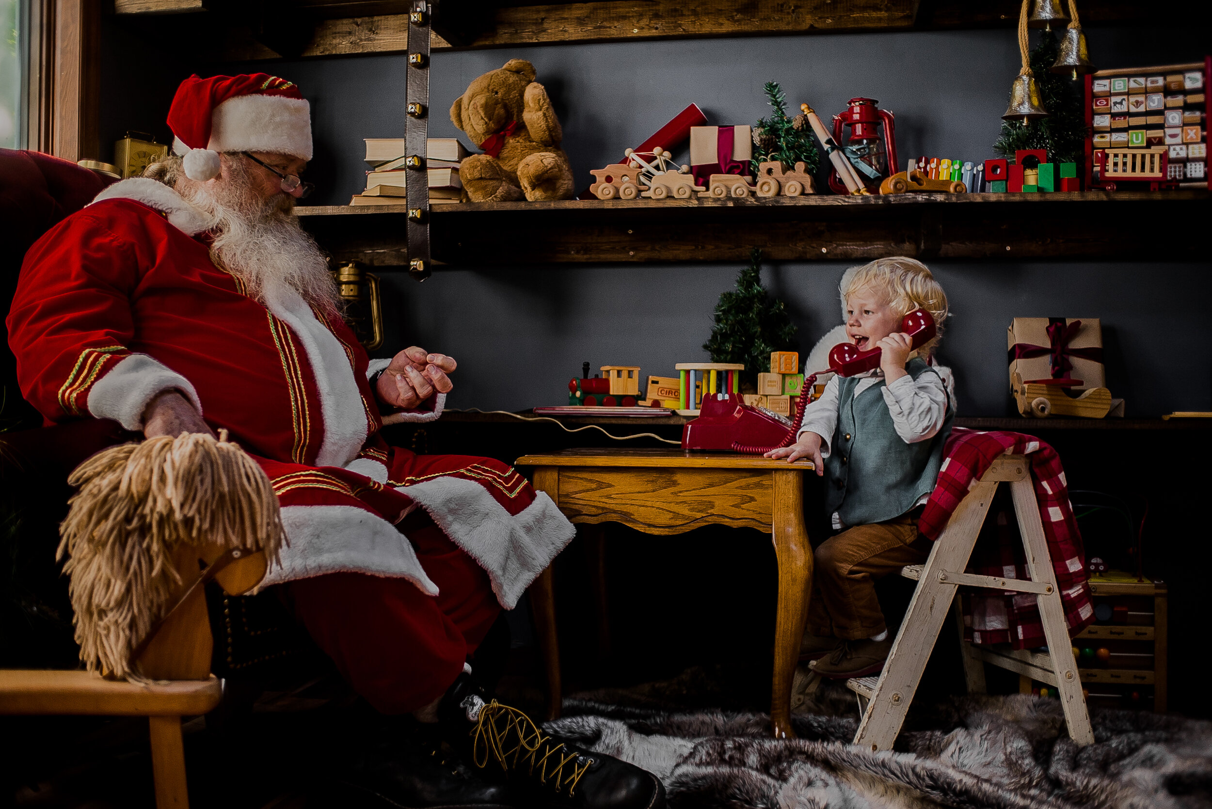 boone west jefferson ashe county santa claus photography professional