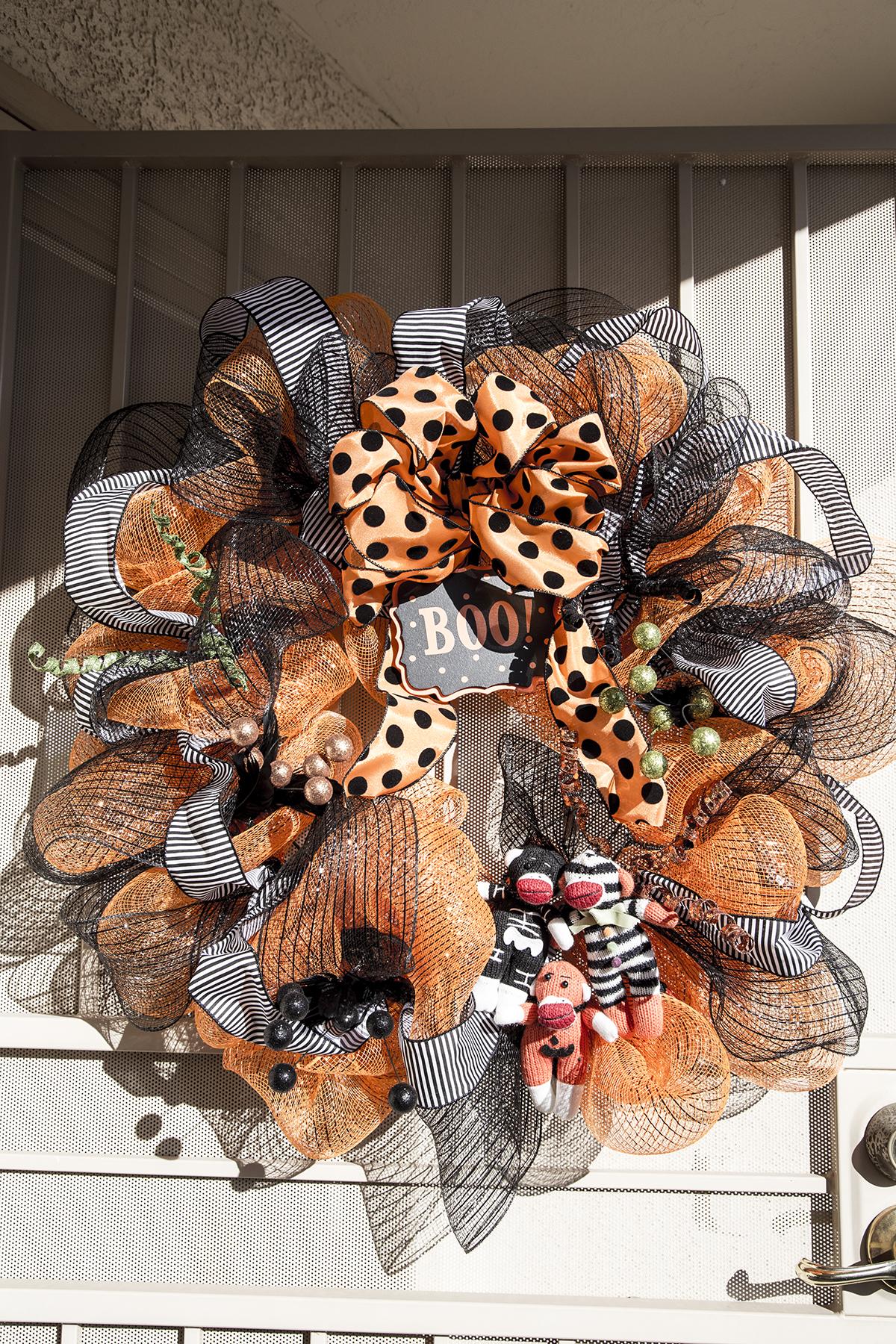 The MacLaren's 2014 Halloween Wreath