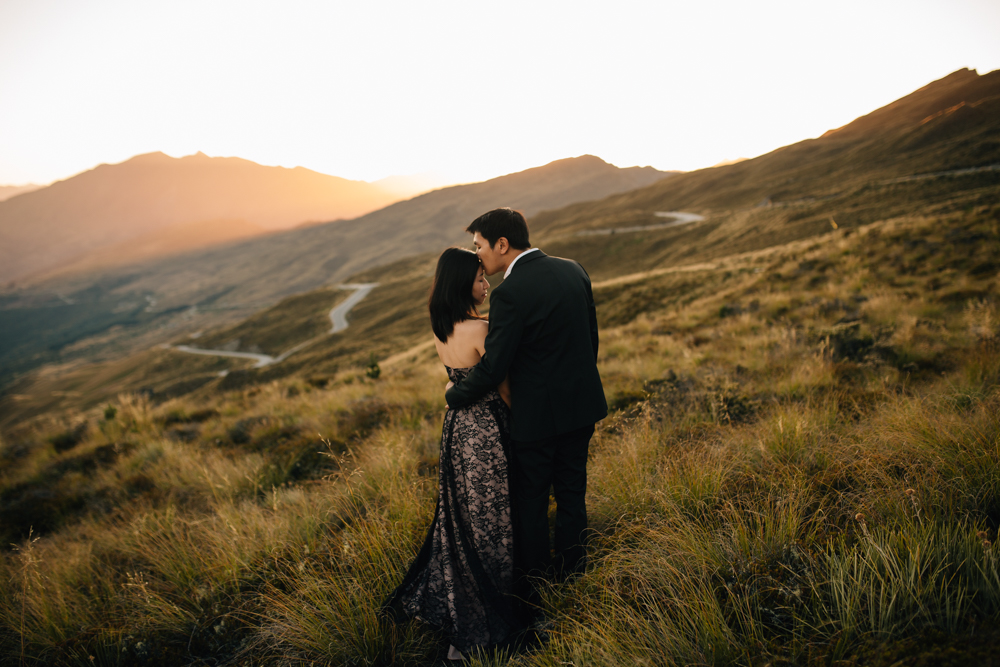 LYSHE AND EDDY: QUEENSTOWN ENGAGEMENT