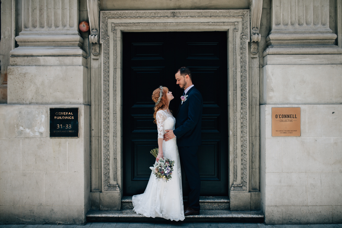 MICHELLE AND JONATHAN: AUCKLAND CITY WEDDING