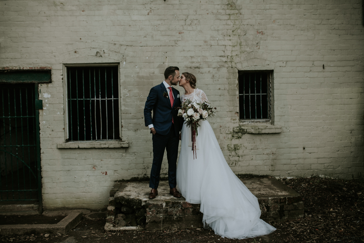 REBECCA AND BRENDON: OFFICERS MESS WEDDING