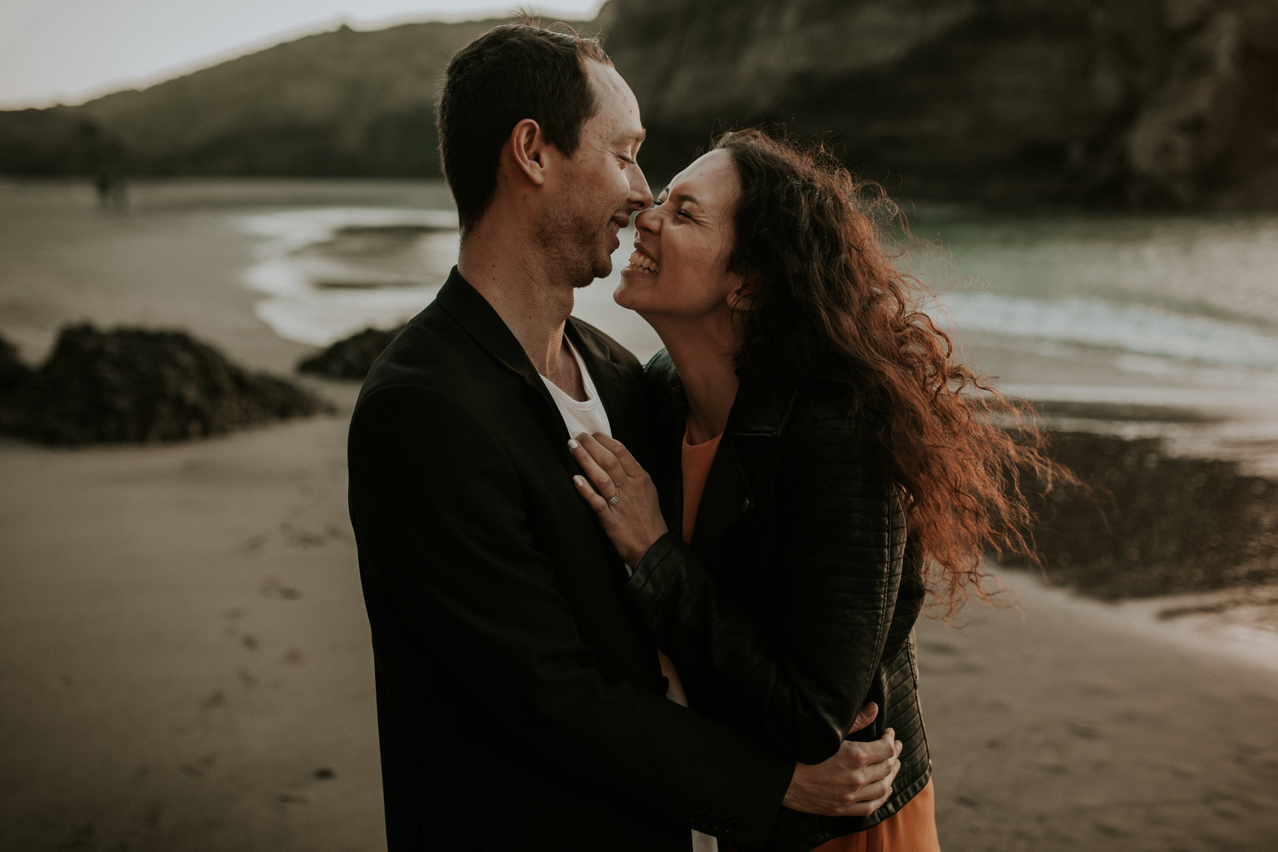 LISA AND STEFAN: PIHA ENGAGEMENT