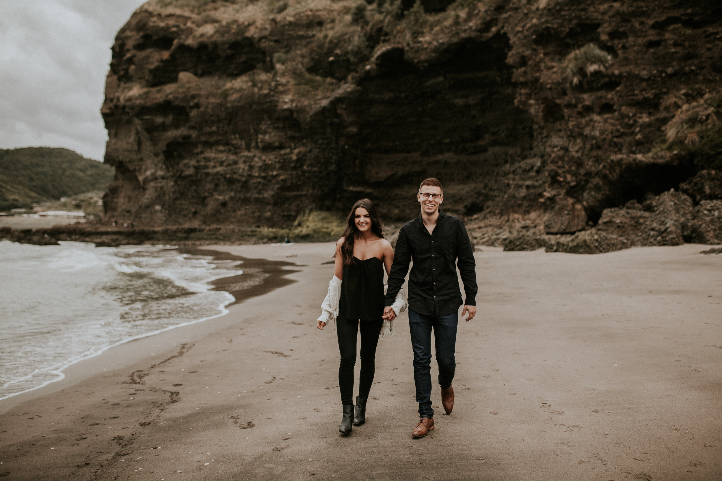 KIMBERLEY AND MATT: PIHA ENGAGEMENT