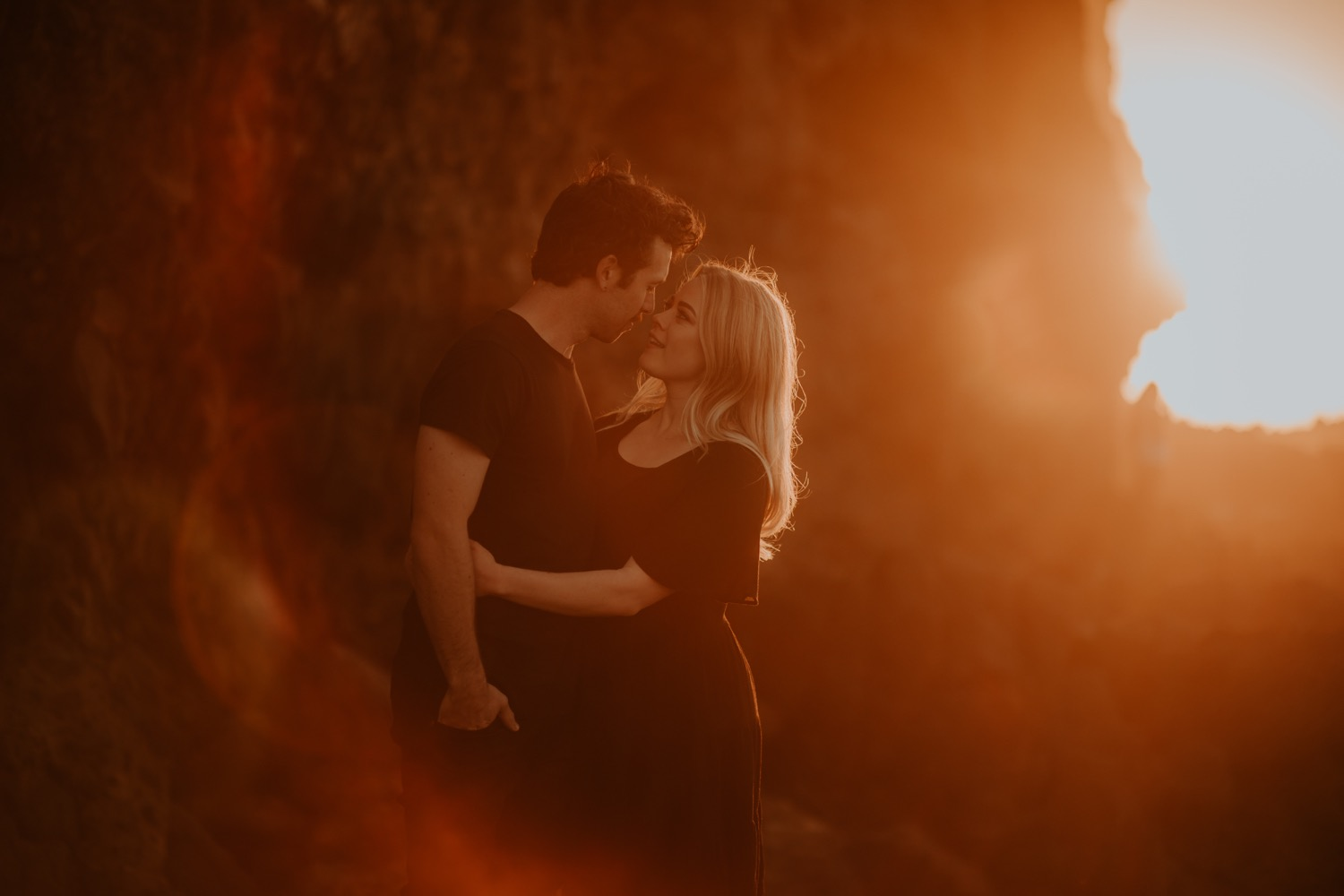 Brie and Jackson: Piha Engagement