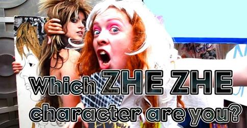 Who are you in the gender-bending topsy-turvy world of Zhe Zhe (the web series)? TAKE THE QUIZ