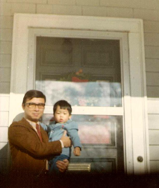 Sam and Stan. Needham, MA c. 1973