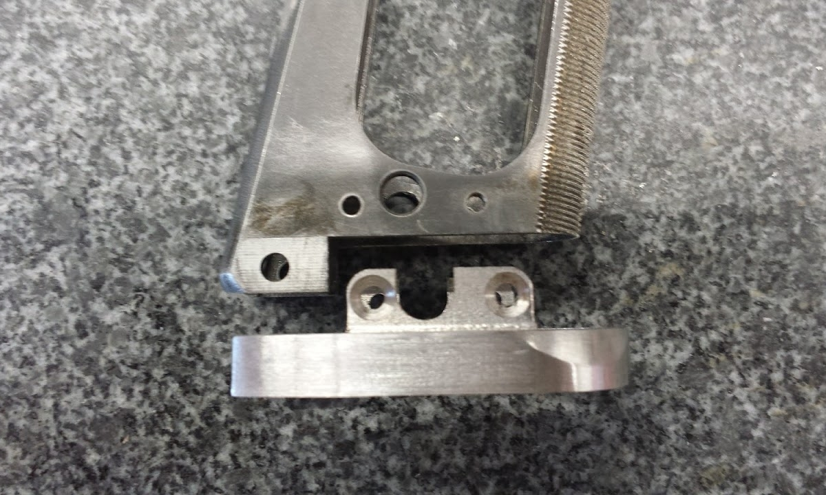 6a. Bolt-on version of GEN 1 Chen Magwell attaches via 4 screws and drilled and tapped holes on frame.