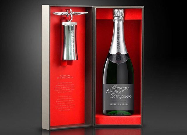 It was an honor and privilege to work together with Dampierre Champagne and Bentley Motors to bring this idea to life. forceMAJEURE Design created a limited-edition bottle, accessorized with a superbly crafted Champagne stopper. Inspired by the Flying B mascot from the Iconic Bentley models of the 1930's and 1940's—and taking the codes of the Bentley Centennial, forceMAJEURE designed a sleek, modern structure crowned with the iconic vintage winged B ornament, bringing to life this unique piece of Bentley Motors history. The Limited Edition is beautifully showcased in an elegant grey box, which opens to reveal a bold red interior.#LUXEPACK #LUXEPACK2019 #LUXEPACKMONACO #CreativeAgency #PackagingDesign #LuxuryPackaging #LuxuryDesign #Luxury #Spirits #Beauty #PostofTheDay #Creative #SmartPackaging #CreativePackaging #Inspiration #Inspiring