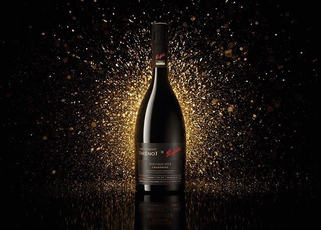 To celebrate its 175th year, Penfolds unveiled Lot 1-175. To create this pioneering label, forceMAJEURE explored the two brands' ranges and naming conventions to create an exceptional luxury design reflective of both Thiénot and Penfolds. To create the primary and secondary packaging, we sought inspiration from traditional French Champagne design cues and blended those with Penfolds' brand DNA. #PenfoldsxThienot #creativeagency #luxury #design #champagne #packagedesign