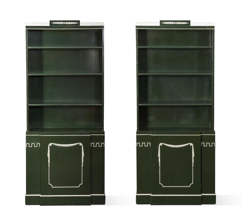 Grosfeld House Green Bookcase Pair 1.jpg