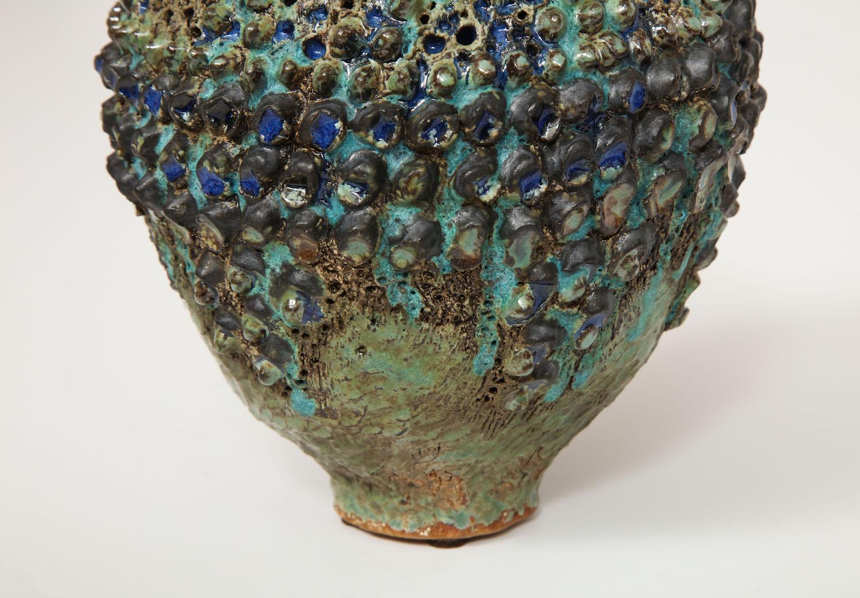 Dena Zemsky Bulbous Vase Small With Bumps 5.jpg