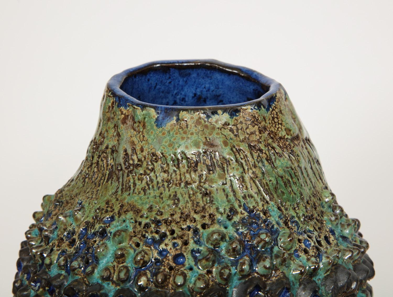 Dena Zemsky Bulbous Vase Small WIth Bumps 8.jpg
