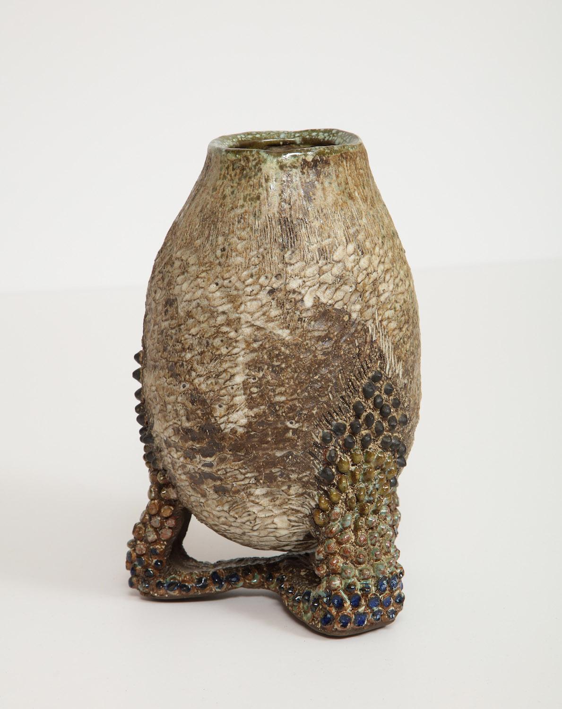 Dena Zemsky White Cauldron Vase 6.jpg