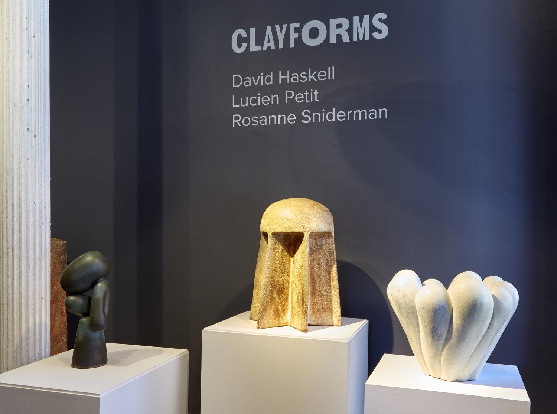 ClayForms - Oct. 9th - Nov. 2nd 2018
