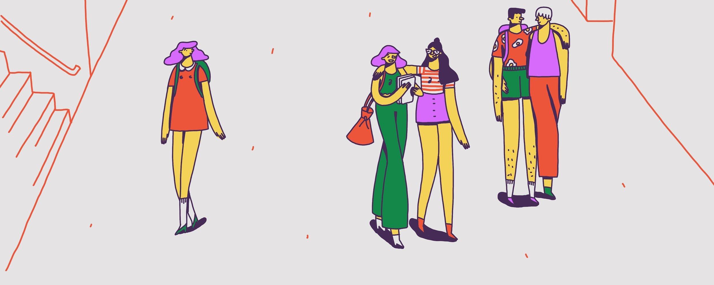 Teen Vogue Ask A Sex Educator Illustrations