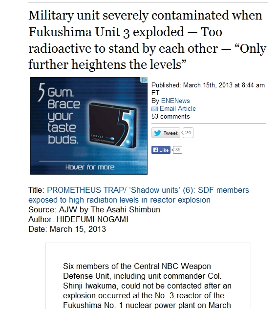 10a Military unit severely contaminated when Fukushima Unit 3 exploded — Too radioactive to stand by each other.jpg