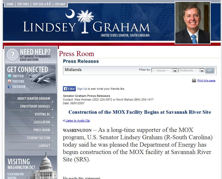 11 long-time supporter of the MOX program, U.S. Senator Lindsey Graham.png