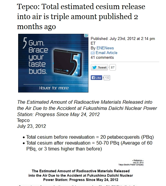 Tepco Total estimated cesium release into air is triple amount published 2 months ago a.jpg