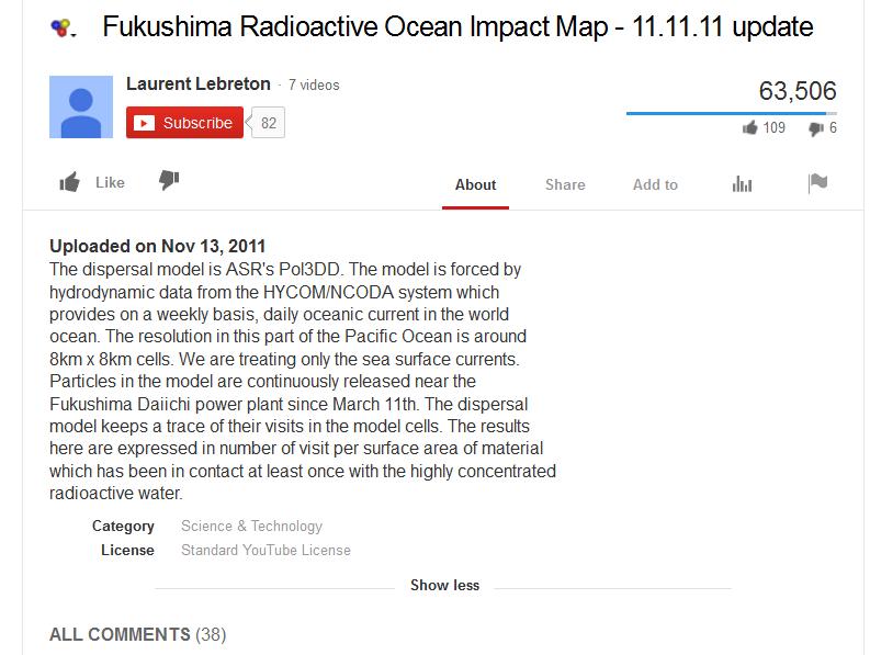 Fukushima Radioactive Ocean Impact Map - 11.11.11 update.png