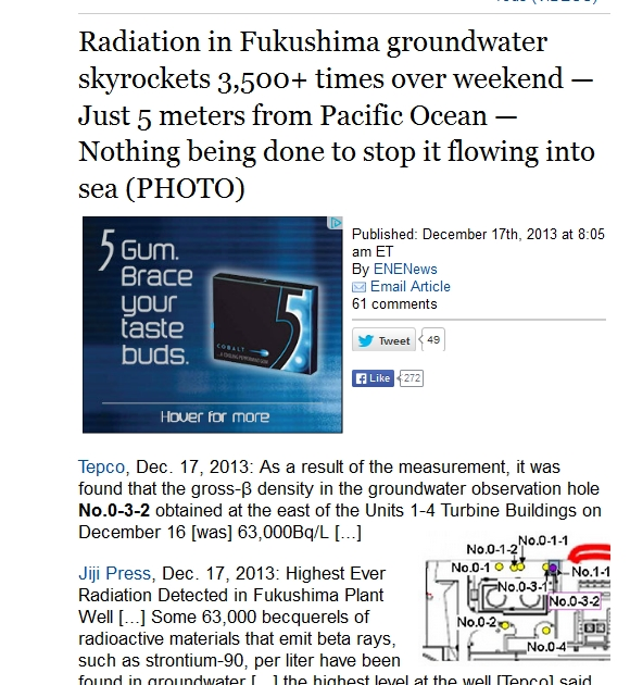 Radiation in Fukushima groundwater skyrockets 3,500+ times over weekend — Just 5 meters from Pacific Ocean.jpg
