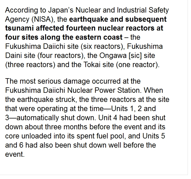 1 the earthquake and subsequent tsunami affected fourteen nuclear reactors.jpg