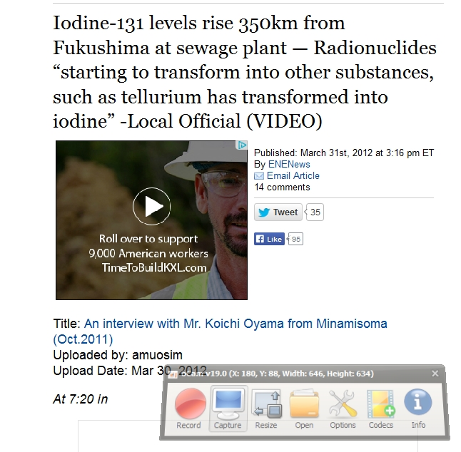 9 Iodine-131 levels rise 350km from Fukushima at sewage plant.jpg
