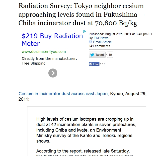 9 Tokyo neighbor cesium approaching levels found in Fukushima — Chiba incinerator dust at 70,800 Bqkg.jpg