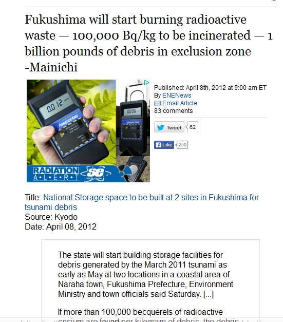 20 km Fukushima will start burning radioactive waste — 100,000 Bqkg to be incinerated.jpg