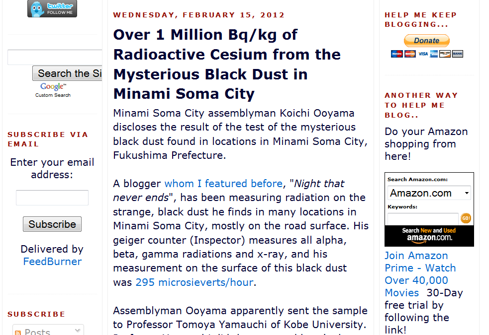 30 lOver 1 Million Bqkg of Radioactive Cesium from the Mysterious Black Dust in Minami Soma City.png