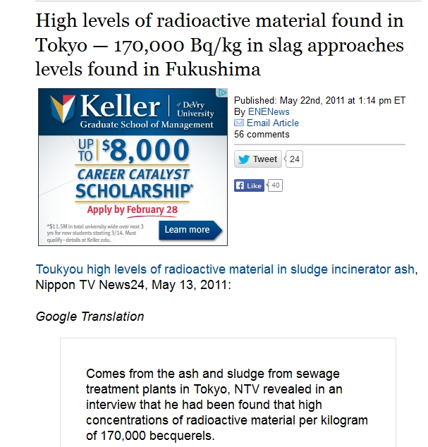 170,000 bq High levels of radioactive material found in Tokyo — 170,000 Bqkg in slag approaches levels found in Fukushima.jpg