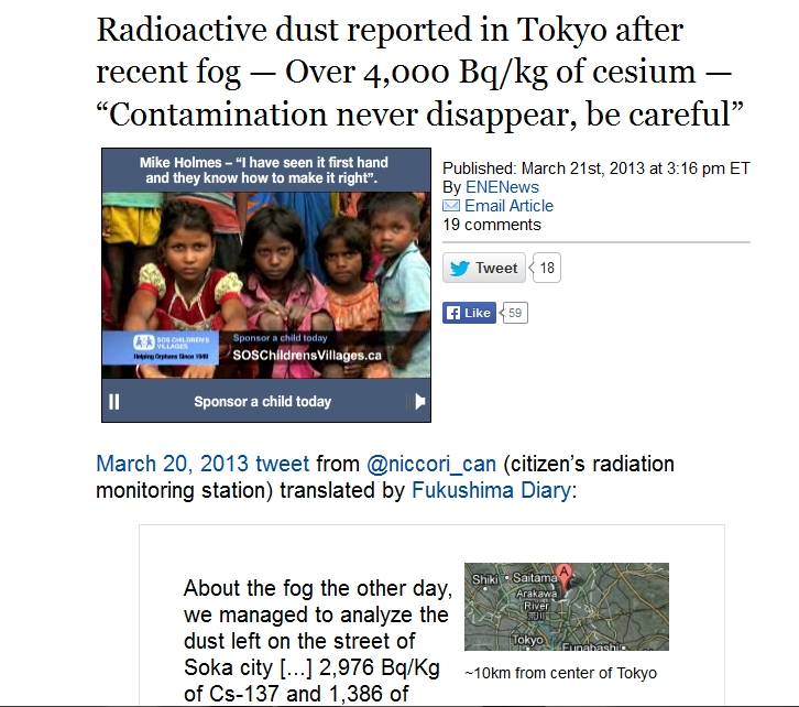 220 km Radioactive dust reported in Tokyo after recent fog — Over 4,000 Bqkg of cesium.jpg