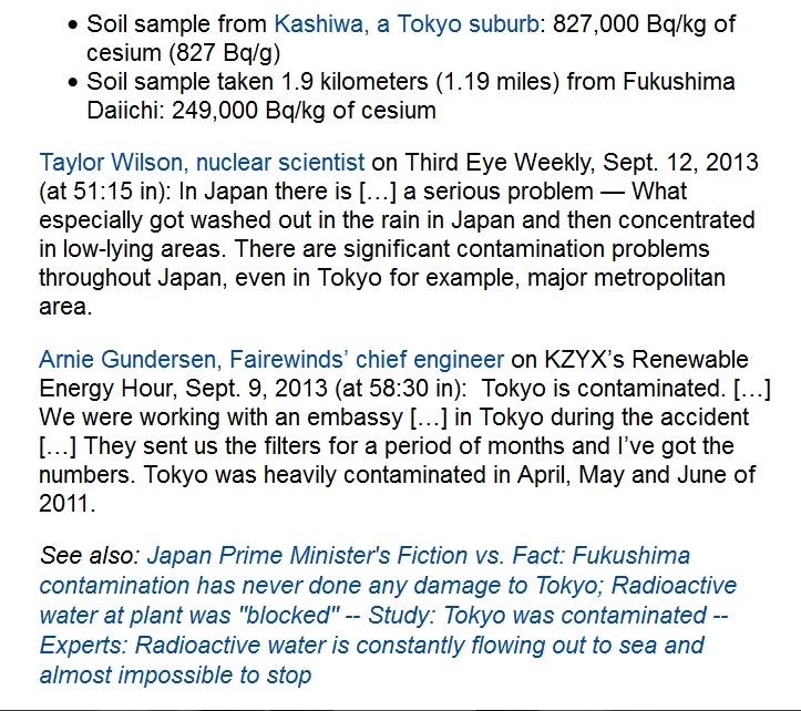 220 km Study Contamination in Tokyo suburb 3 times higher than area 1 mile from Fukushima Daiichi 2.jpg