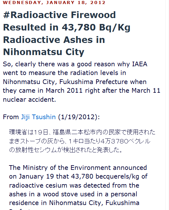 a Radioactive Firewood Resulted in 43,780 BqKg Radioactive Ashes in Nihonmatsu City.png