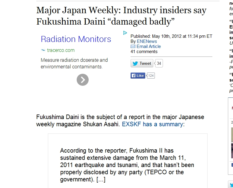 "Industry insiders say Fukushima Daini ""damaged badly"".jpg"
