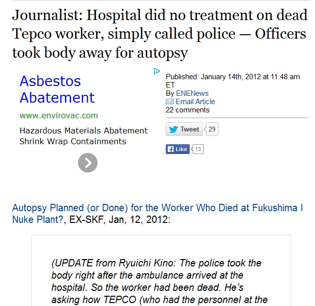 Hospital did no treatment on dead Tepco worker.jpg