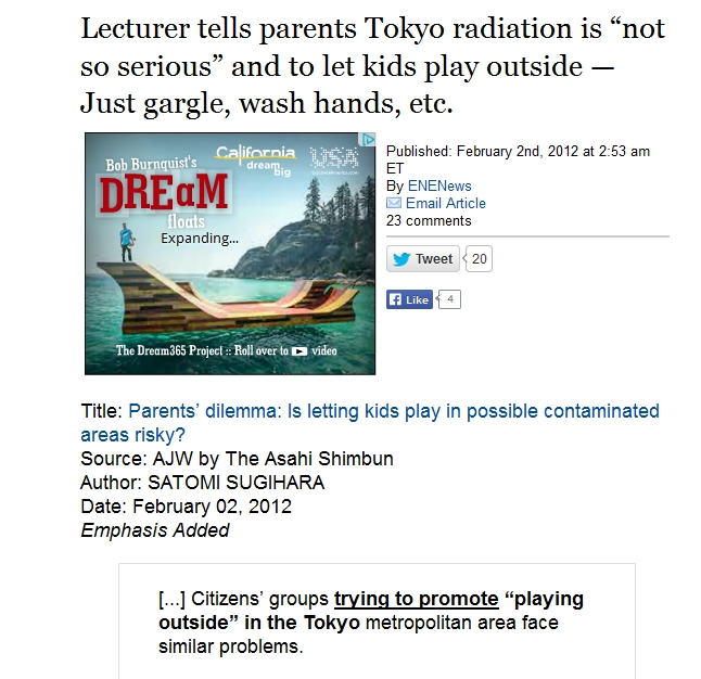 "Lecturer tells parents Tokyo radiation is ""not so serious.jpg"