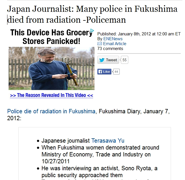 Many police in Fukushima died from radiation.jpg