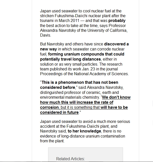 Journal Unprecedented phenomenon  using saltwater in Fukushima reactors —  carbon buckyballs  b.jpg