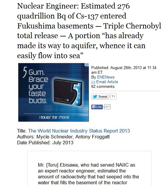 Nuclear Engineer Estimated 276 quadrillion Bq of Cs-137 entered Fukushima basements.jpg