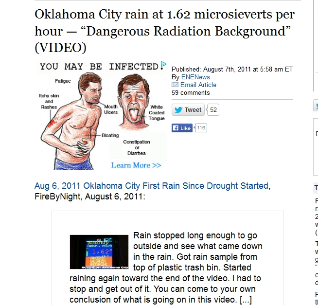 "2 Oklahoma City rain at 1.62 microsieverts per hour — ""Dangerous Radiation Background.jpg"