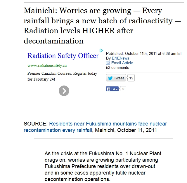 Worries are growing — Every rainfall brings a new batch of radioactivity — Radiation levels HIGHER after decontamination.jpg
