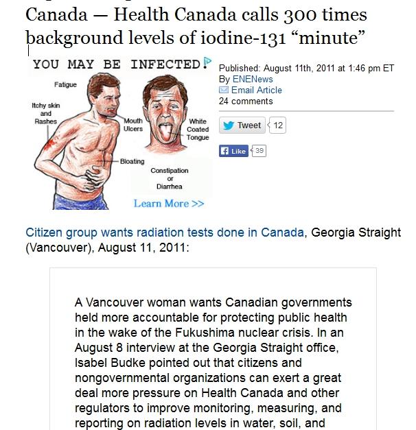 "1 Canada — Health Canada calls 300 times background levels of iodine-131 ""minute"".jpg"
