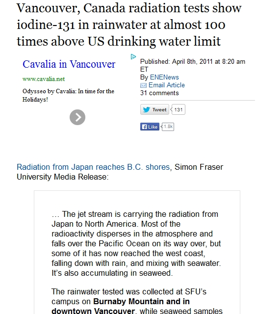 1 Vancouver, Canada radiation tests show iodine-131 in rainwater at almost 100 times above US drinking.jpg