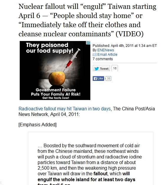 """Nuclear fallout will """"engulf"""" Taiwan starting April 6.jpg"""