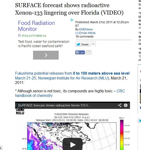 SURFACE forecast shows radioactive Xenon-133 lingering over Florida.jpg