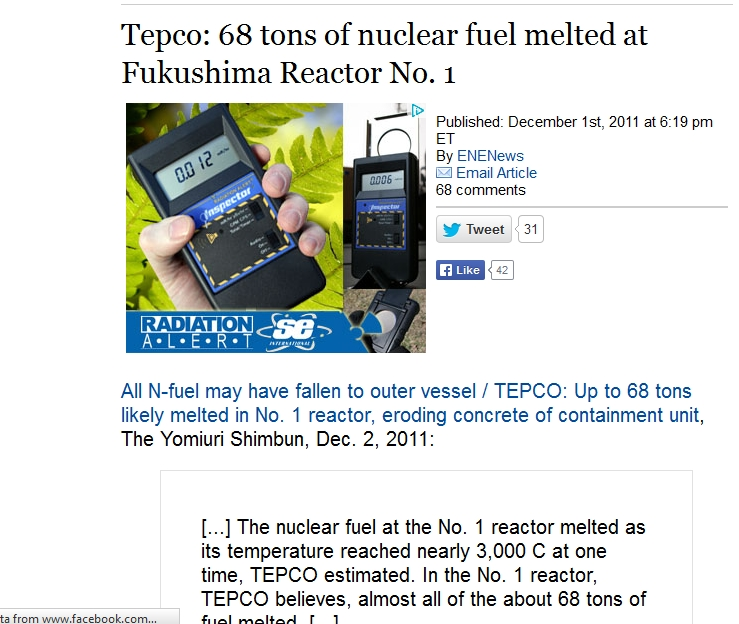 fuel melted at Fukushima Reactor No. 1.jpg