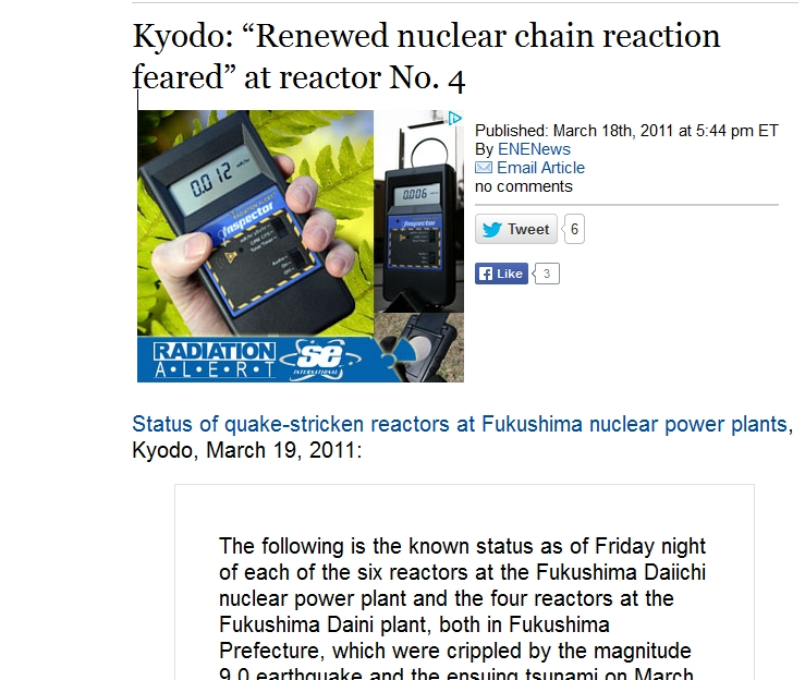 "Kyodo ""Renewed nuclear chain reaction feared"" at reactor No. 4.jpg"